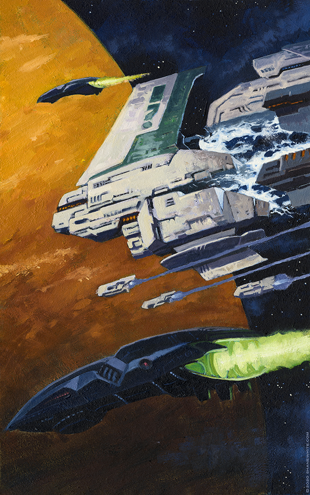 """shane white"" ""shane patrick white"" ""illustration"" ""traditional"" ""oil painting"" ""sci fi"""