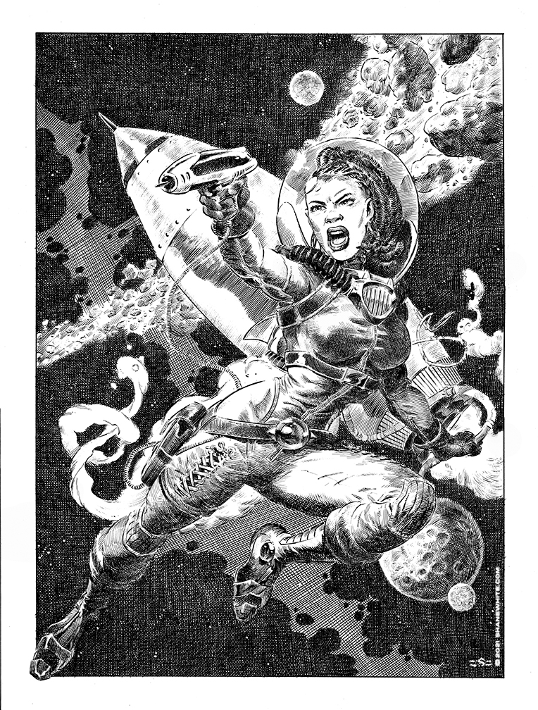 """""""shane white"""" """"shane patrick white"""" """"sci fi"""" """"illustration"""" """"pen and ink"""" """"crowquill"""" """"ink work"""" """"pinup"""" """"good girl art"""""""