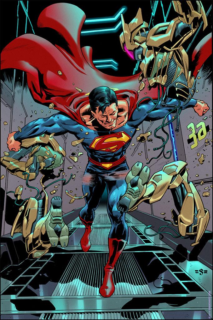 """""""shane white"""" """"shane patrick white"""" """"comics"""" """"illustration"""" """"superman"""""""